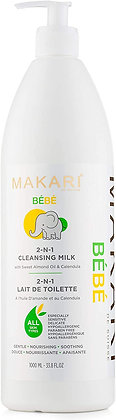 Baby Cleansing Milk - Soothing, Hydrating Bath Time 1000ML