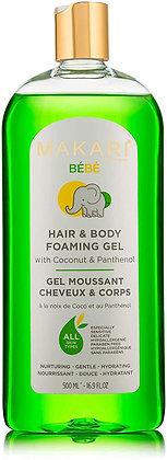 Gel moussant corps et cheveux 500ML