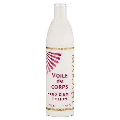 veil for all the body, hydrating, enriched with Aloe Verra and carob 500 ML