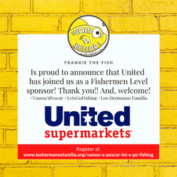 Frankie the Fish Welcomes United