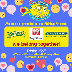 We are so grateful to our Fishing Friends!