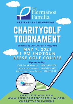 LHF Golf Touramnt Poster 2021