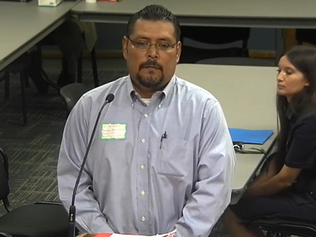 Parent takes grievance to LISD Board, asks police chief to be fired. Board votes no.