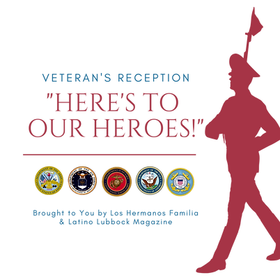 Here's to Our Heroes Veteran's Reception