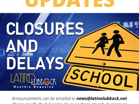 Area Closures & Delays for 10-28-20