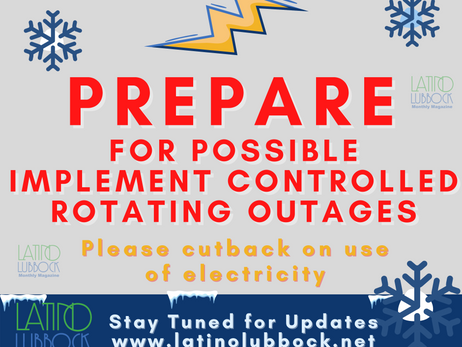 Southwest Power Pool instructs LP&L, member utilities, to initiate controlled outages to maintain sy