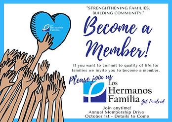 Membership LHF Blue Heart and Hands Illu