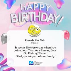 Frankie the Fish Birthday!