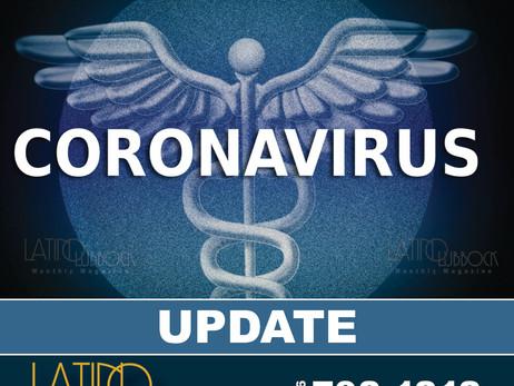 City of Lubbock Confirms New Coronavirus (COVID-19) 26 New Cases