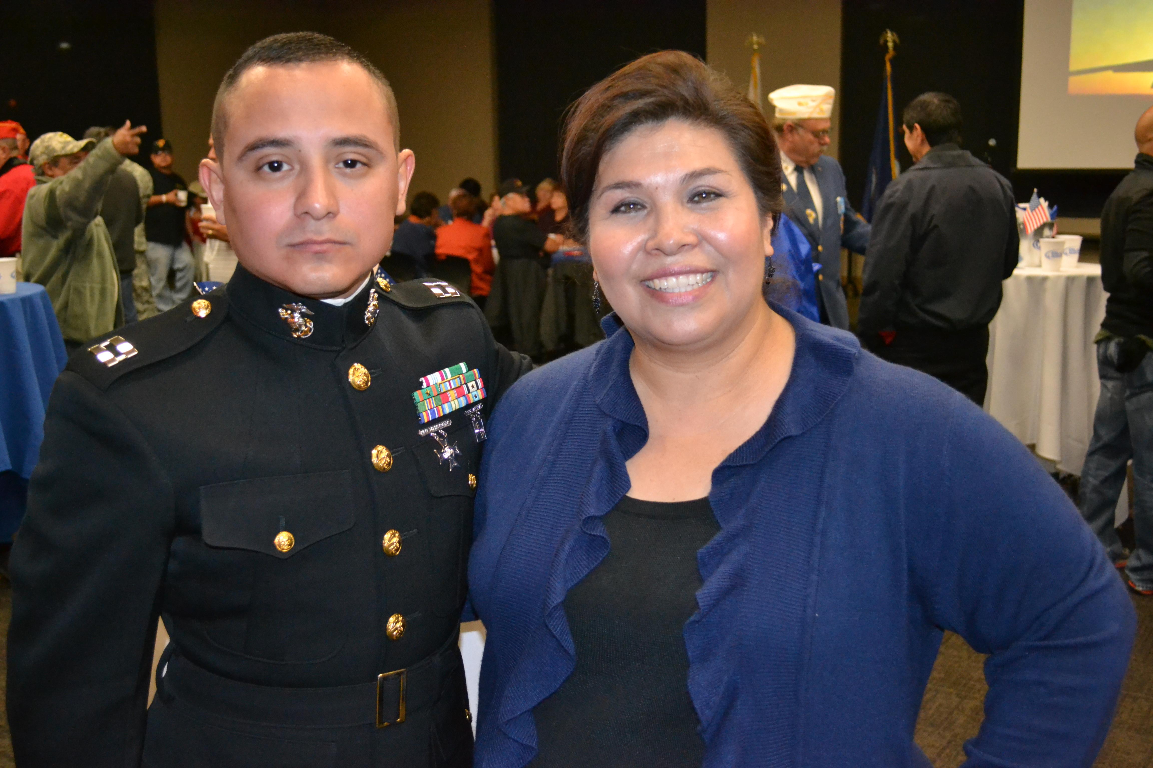 Christy Martinez-Garcia Welcomes Marine