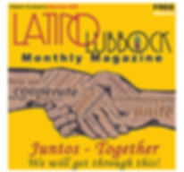 Latino Lubbock  Vol 14 issue 5 May Cover