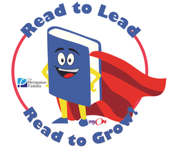 Read to Lead read to Grow round logo wit