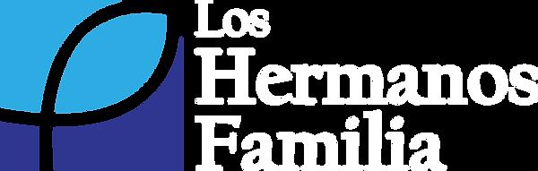 Los Hermanos Familia Logo White Letters