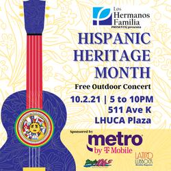 Hispanic Heritage Month Concert Instagram