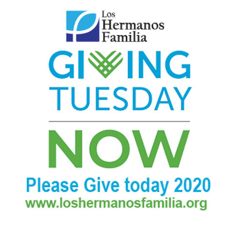 GivingTuesdayNow LHF with box  give toda