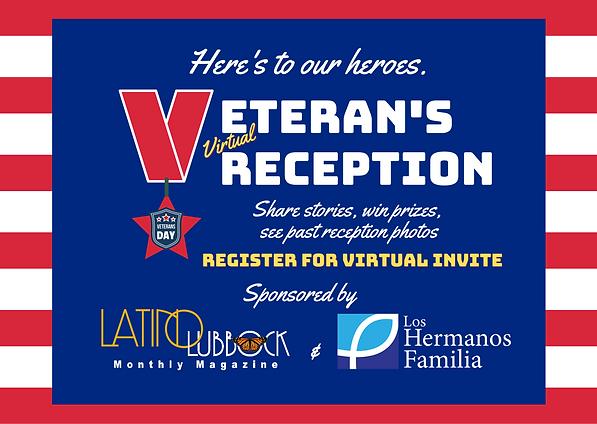LLM & LHF Virtual Veterans Day Reception