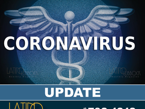 City of Lubbock Confirms Additional Coronavirus (COVID-19) Cases