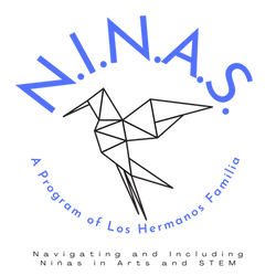 NINAS LHF Logo program of Los Hermanos F