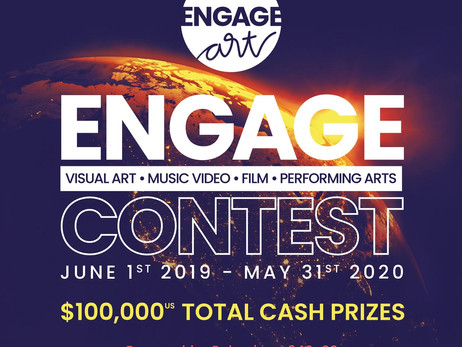 Engage Art Contest To Award $100,000 In Cash Prizes