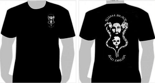 """Elijah Black Skull """"T- Shirt"""""""