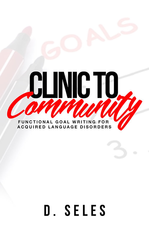 PRE-ORDER | Clinic to Community