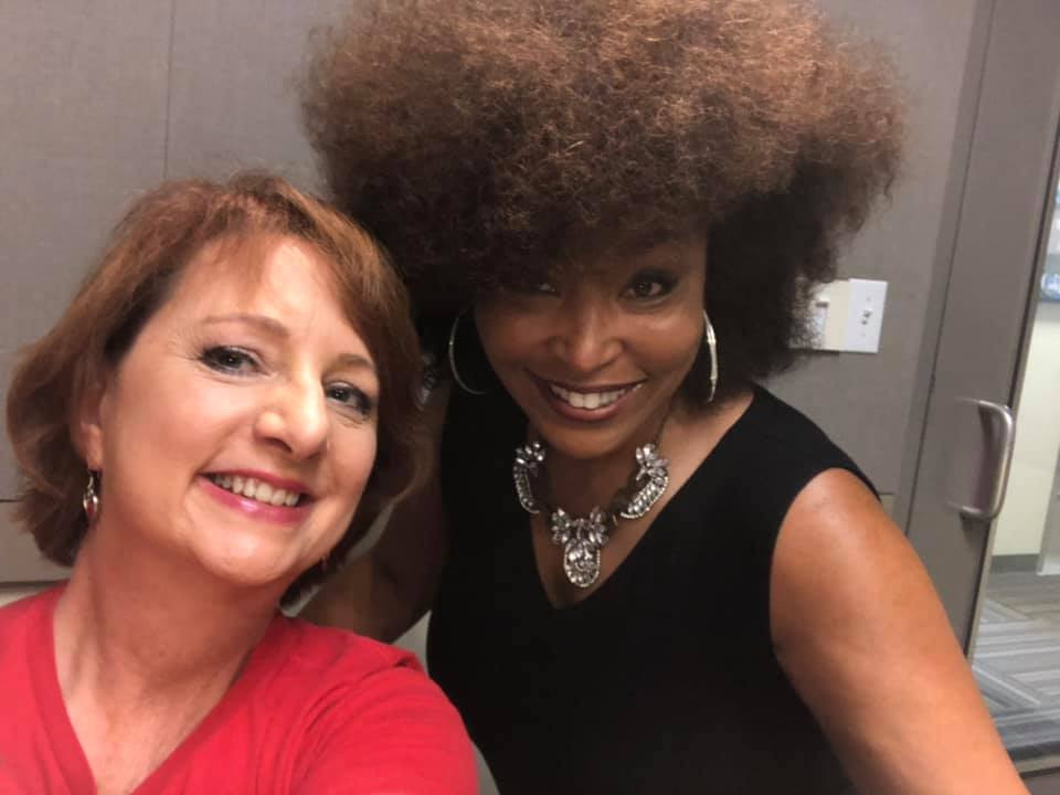 Heart2Heart's Sheila with Radio Host Francine Marie