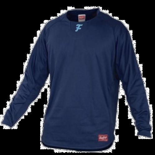 Rawlings Long Sleeve Shirt Fleece Pullover