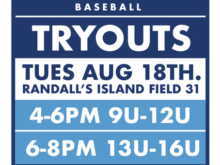FALL TRYOUTS