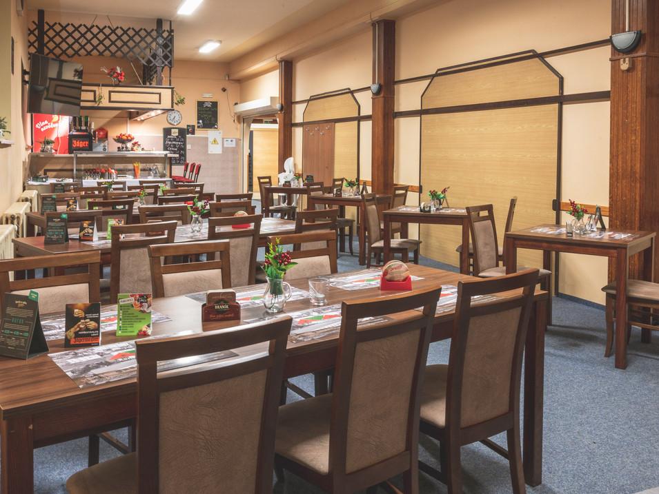 Kantýna restaurace sál 1