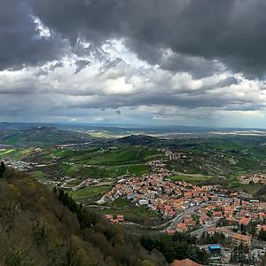 Severní Itálie a San Marino