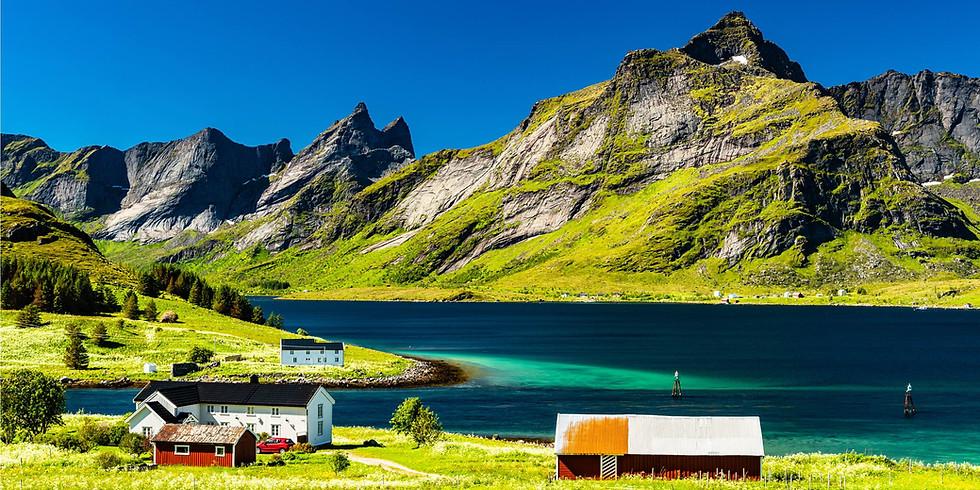 Netradiční putování Norskem