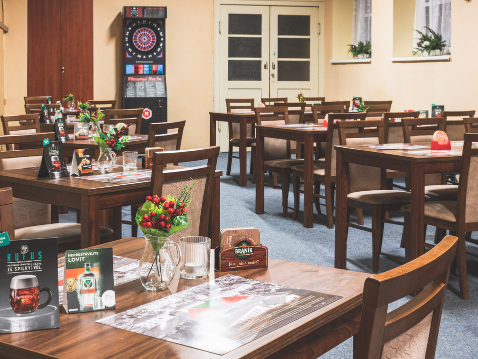 Kantýna sál restaurace