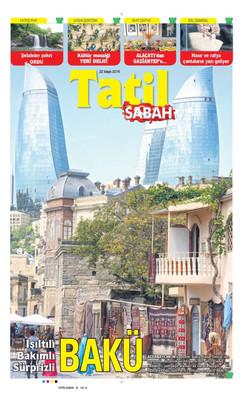 Sabah Gazetesi - 22.05.2015 - 01