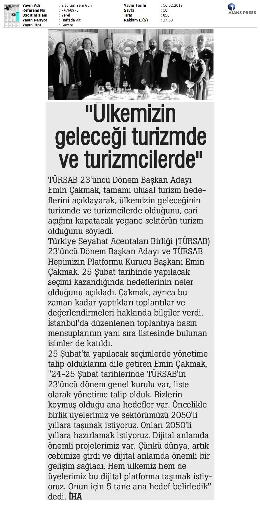 Erzurum Yeni Gün