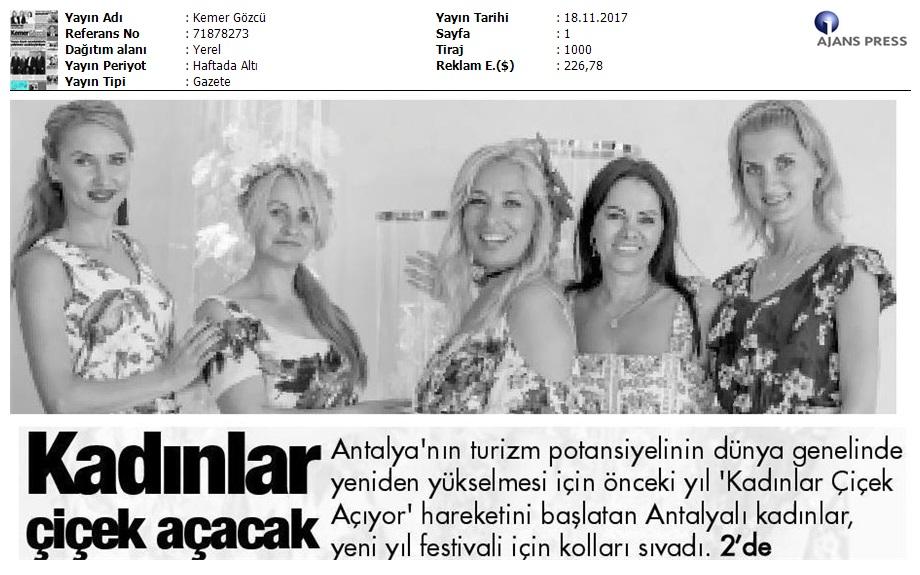 Kemer Gözcü Antalya