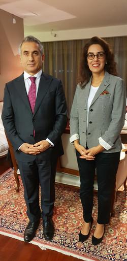 Büyükelçi Başak Türkoğlu