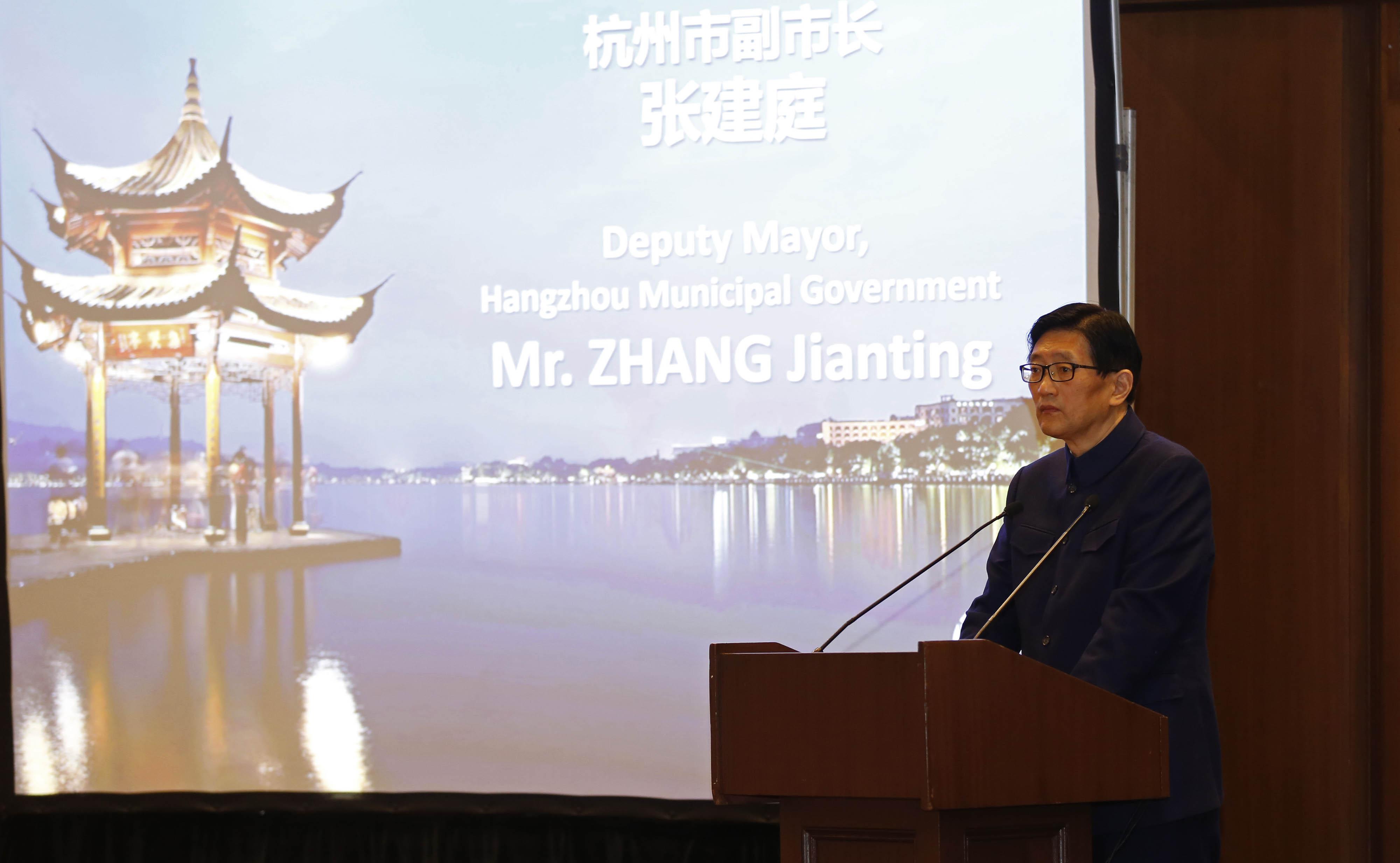 Hangzhou Belediye Başkanı Yardımcısı Zhang Jianting