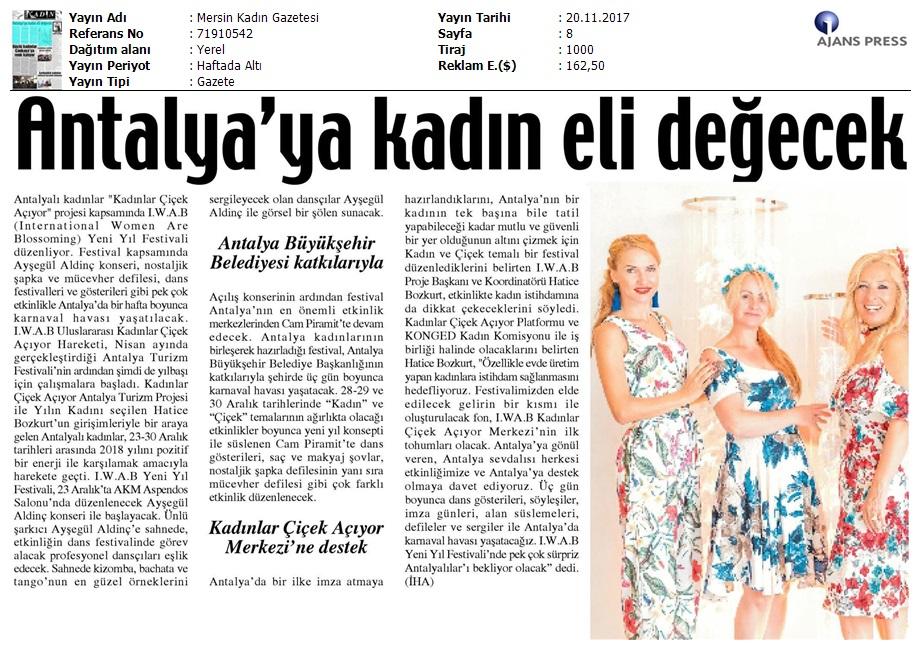 Mersin Kadın Gazetesi
