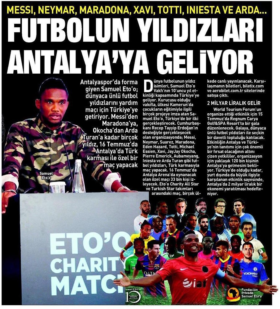 Sabah Gazetesi 2016.06.30