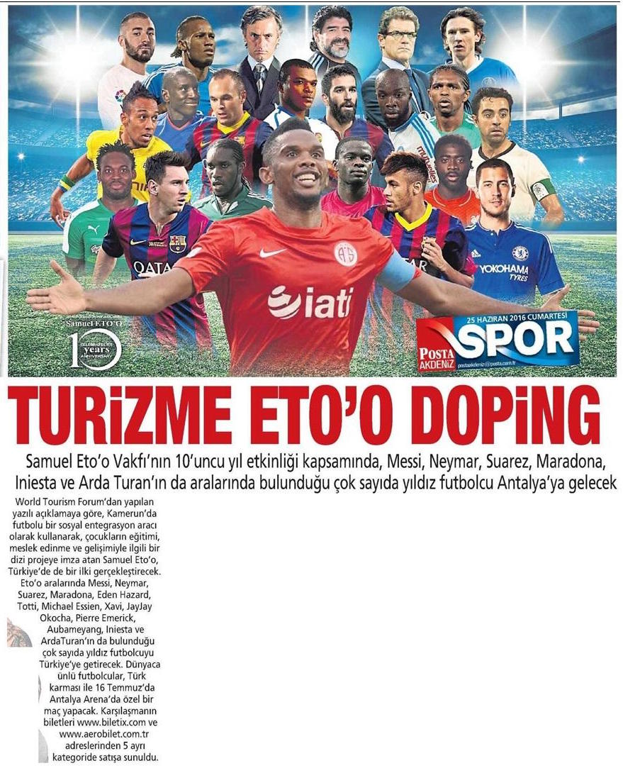 Posta Gazetesi - 2016.06.25