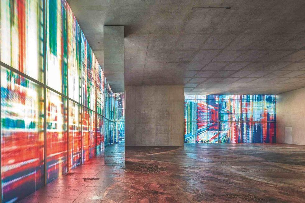 """""""Theater of Disappearance"""", Adrian Villar Rojas, 2017. Musée d'art de Brégence (KUB), Autriche."""
