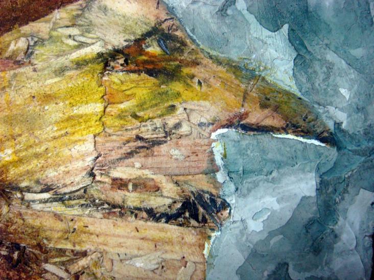 Peinture sur bois, couleurs naturelles, peaux d'oignons, betteraves, henné