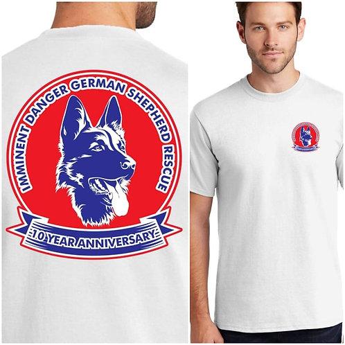 IDGSR 10 YEAR Anniversary T-Shirt