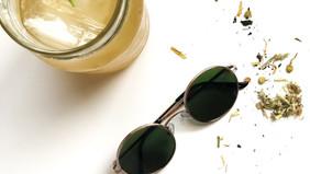 Fresh Recipe! Rosemary ginger ICED tea!