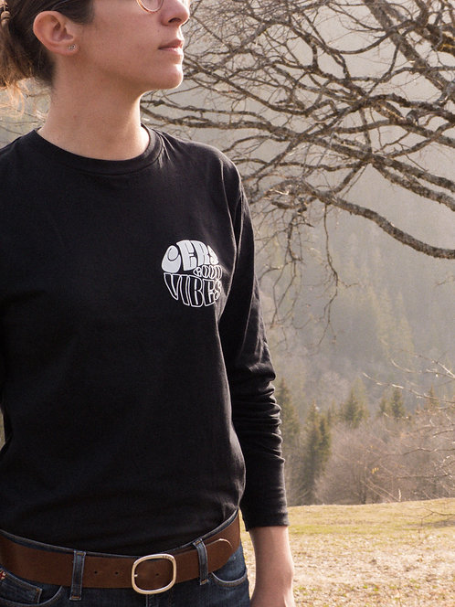 The Really Black (t-shirt manches longues)