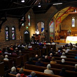 St Alban's 50th Anniversary Service