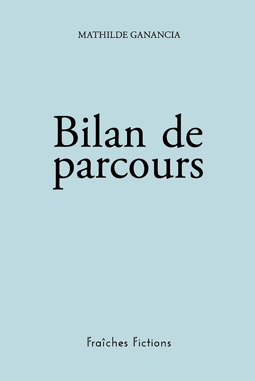 Mathilde Ganancia / Bilan de parcours