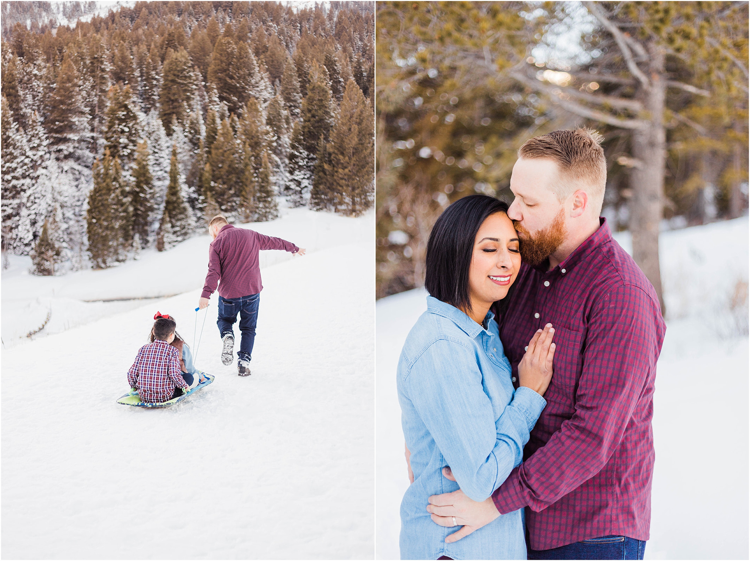 Kenzie Jo Photography, Winter family pictures at Tibble Fork Reservoir, Utah family photographer, what to wear for family pictures