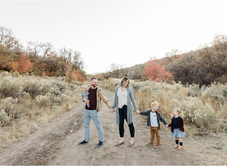 Holm || Fall Family Session