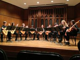 Bella Corda performing at Millikin University